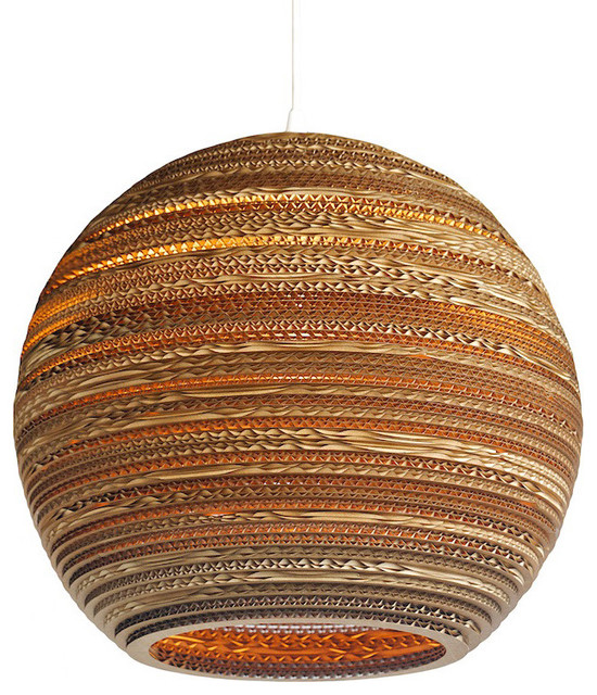 Moon 18 Scraplight Contemporary Pendant Lighting By