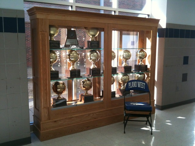 Trophy Case Traditional Desk Accessories Dallas By