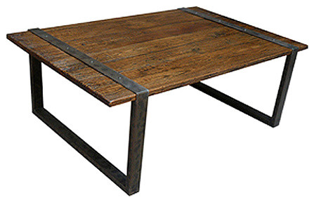 Reclaimed wood coffee table eclectic coffee tables Eclectic coffee table makeovers