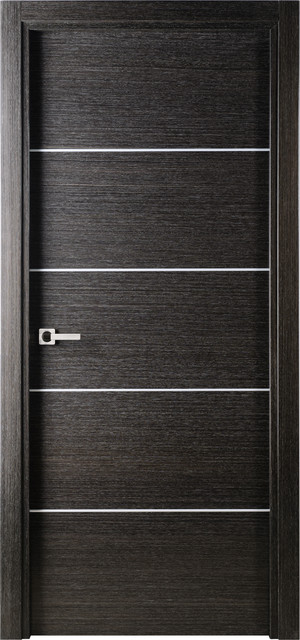 Avanti interior door black apricot contemporary interior doors new york by doors and beyond - Sophisticated black interior doors ...