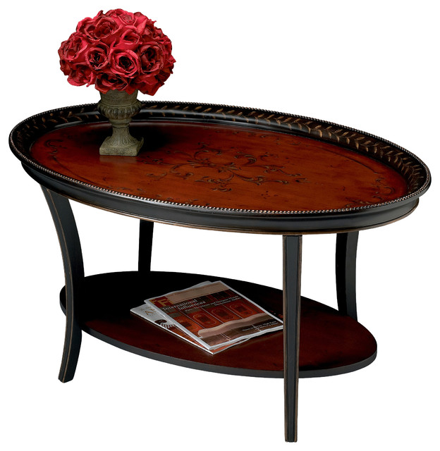 black coffee table transitional - photo #36