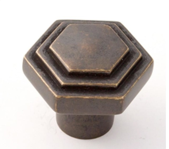 Alno Inc. - Geometric Barcelona Knob - Transitional - Cabinet And Drawer Knobs - Chicago - by ...