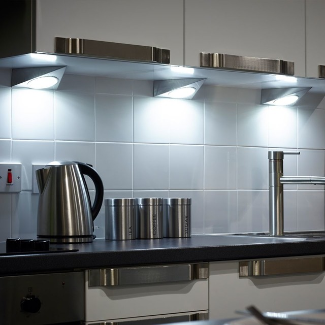 GX53 LED Triangle Under Cabinet Spotlight