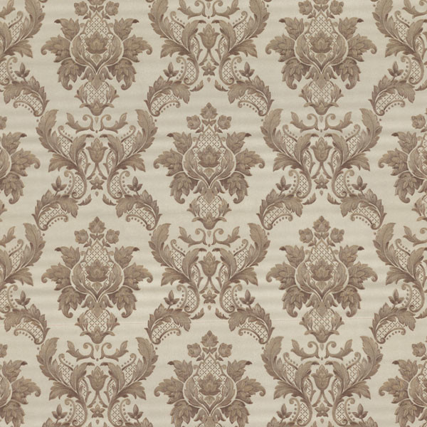 Estate brass damask wallpaper bolt traditional for Wallpaper traditional home