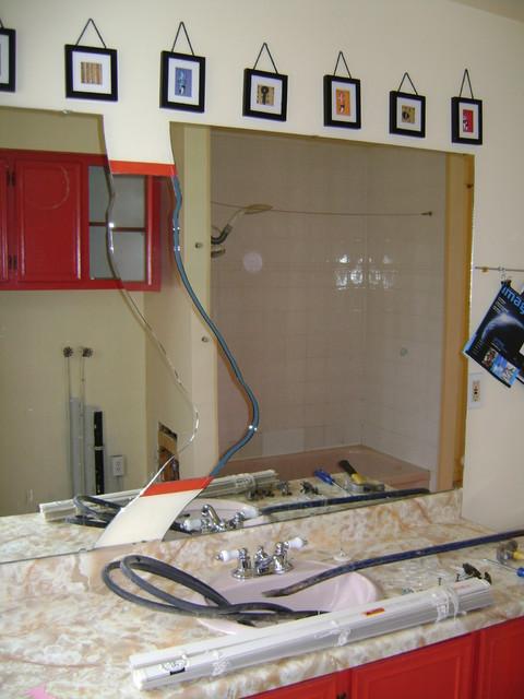 Reno salle de bains bath redo contemporary montreal for Reno salle de bain
