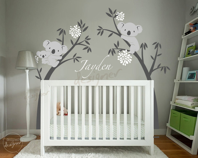 kids wall decoration - Tropical - Nursery Decor - Other