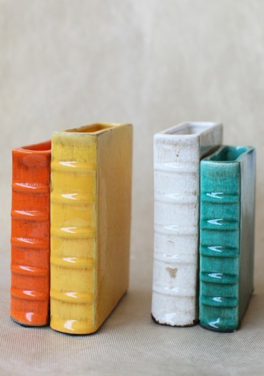 Literary Adventure Bookends - Eclectic - Bookends - by Ruche