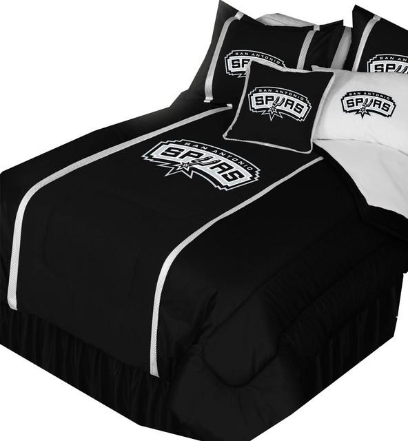 NBA San Antonio Spurs Bedroom Set, Basketball Bedding