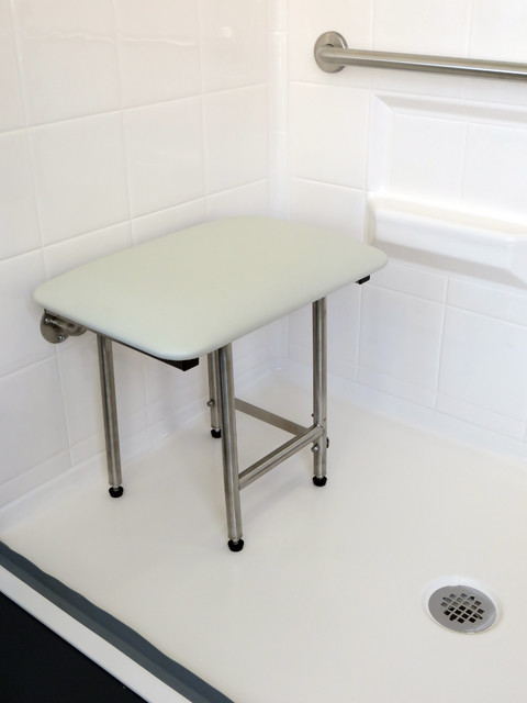 Compact Padded Fold Up Shower Seat Modern Shower