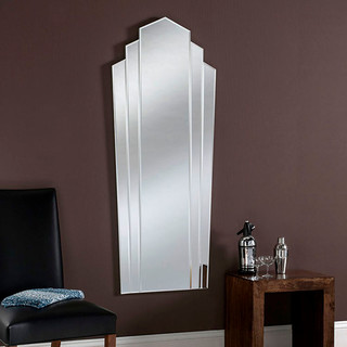 Art deco fan mirror full length 150 x 60cm eclectic for Miroir 150 x 60