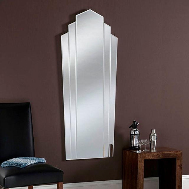 Art deco fan mirror full length 150 x 60cm eclectic for Miroir 60x150