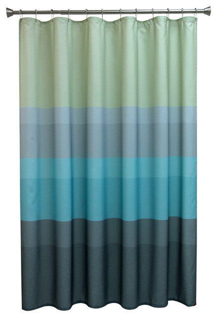 Textured Layers Cool Shower Curtain Modern Shower
