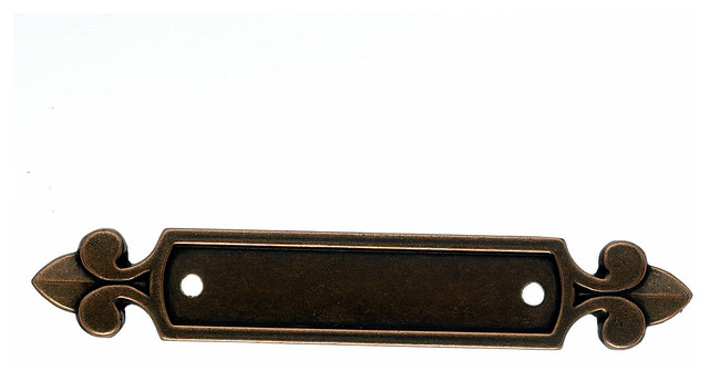 Pull Backplate, Copper - Traditional - Cabinet And Drawer Hardware - by Simply Knobs And Pulls