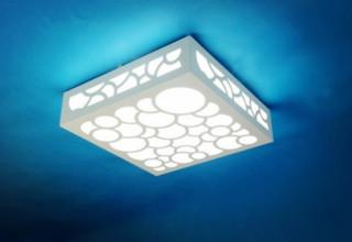 Elegant Style Hallway Ceiling Lights White - Modern - Flush-mount Ceiling Lighting - other metro ...