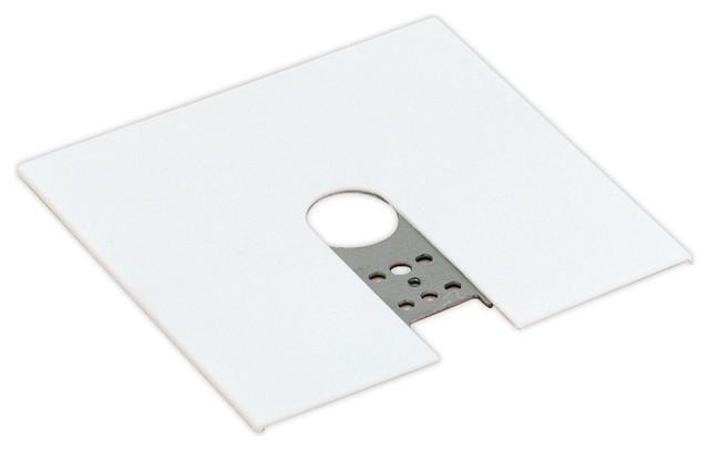 lightolier 9060 radius outlet box cover - modern