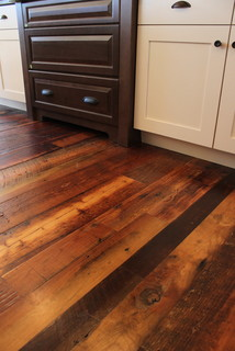 Weathered Antique Pine Traditional Hardwood Flooring