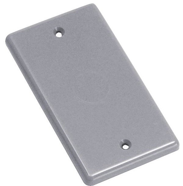 Blank Handy Box Cover Contemporary Switch Plates And