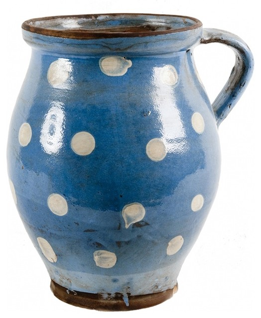 Blue pot eclectic home accessories decor new york by omero - Blue home decor accessories ...