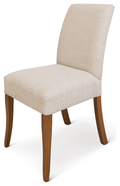 sleigh modern dining chairs by