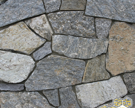 Rocky White Granite : E z set™ natural stone veneer stacked products