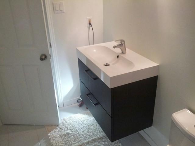Wonderful  Bathroomrenovationsubwaytilesriobelplumbingfixturestowelbar