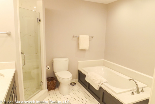 Townhouse master bath traditional bathroom other for Townhouse bathroom designs