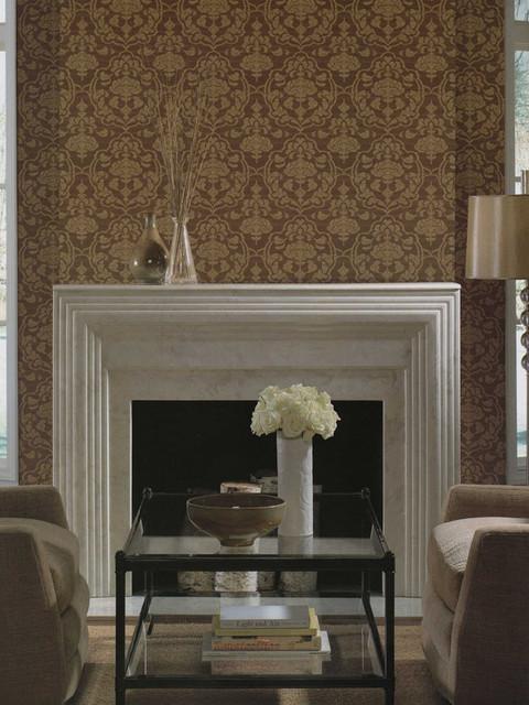 Damask Living Room Decor: Damask Resource Georgetown Designs