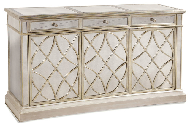 Borghese Buffet Table - Traditional - Buffets And ...