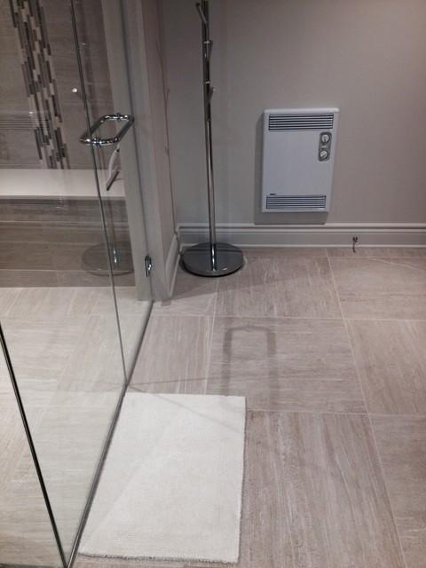 Salle de bain / douche - montreal - di Deco Drain inc.
