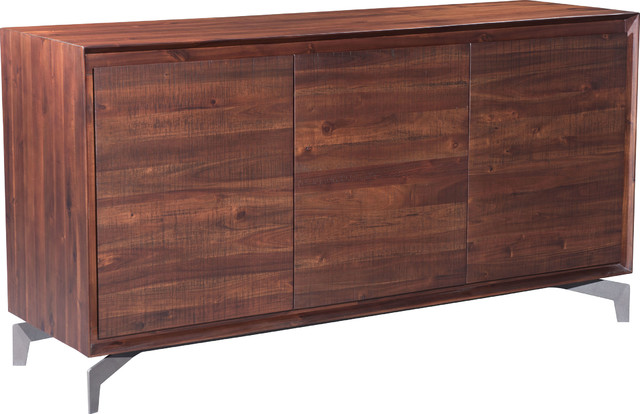 Zuo Modern Contemporary Perth Buffet Chestnut Buffets And Sideboards