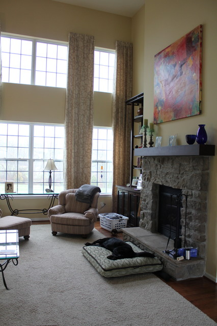 2 story family room drapes eclectic curtains for 2 story living room decorating ideas