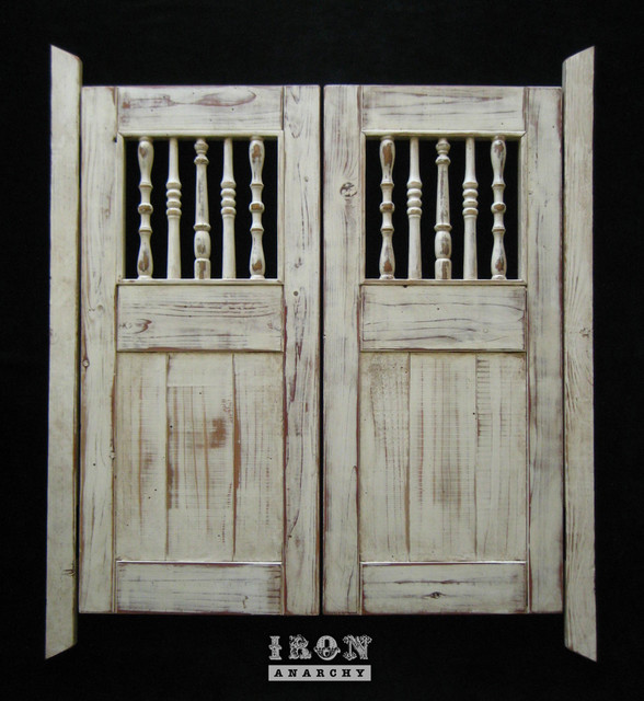 Custom Swinging Saloon Doors