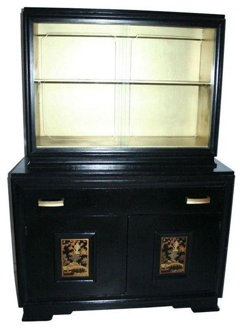 Vintage chinoiserie cabinet 4 800 est retail 999 on for Kitchen cabinets 999