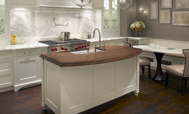 Walnut Wood Countertop With Sink By Grothouse
