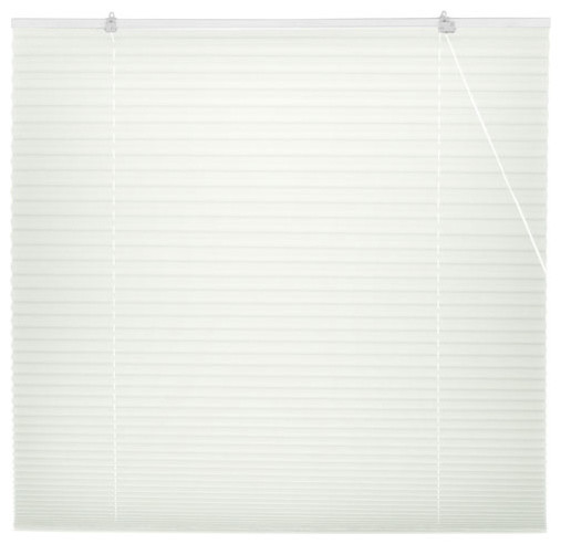 White pleated shades 72 inch width 72 inches for 18 inch window blinds