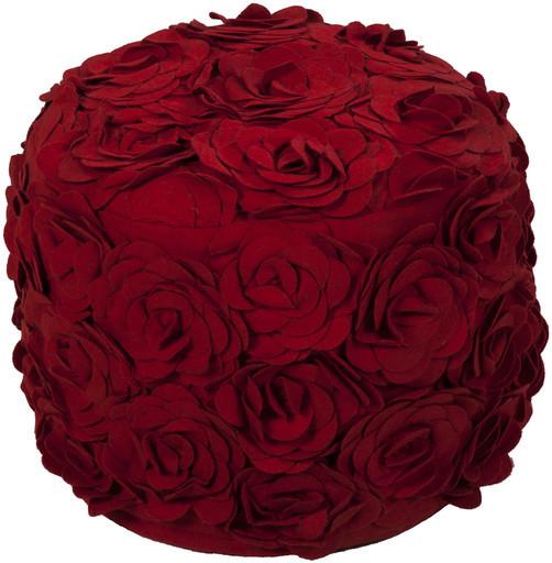 rose petal pouf transitional by bella vici. Black Bedroom Furniture Sets. Home Design Ideas