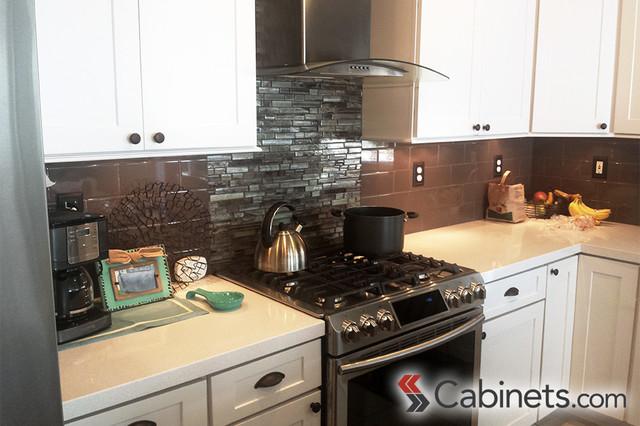California Kitchen Transformation Using RTA Cabinets ...