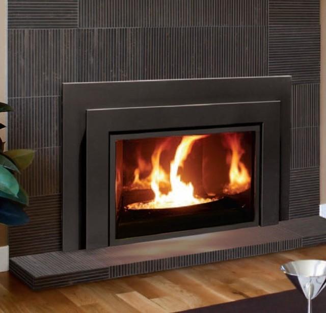 Enviro Clean Face E33 Series 33 39 39 X 20 39 39 Direct Vent Gas Insert Fireplace Modern New York
