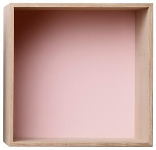 mini stacked regalsystem esche rosa m muuto skandinavisch regalsysteme von found4you. Black Bedroom Furniture Sets. Home Design Ideas