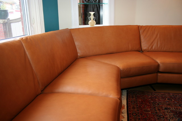 Leather Sectional Sofa March modern