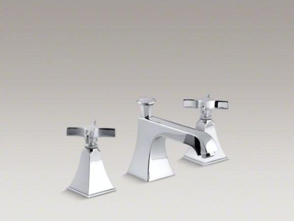 KOHLER Memoirs(R) widespread bathroom sink faucet with cross handles ...
