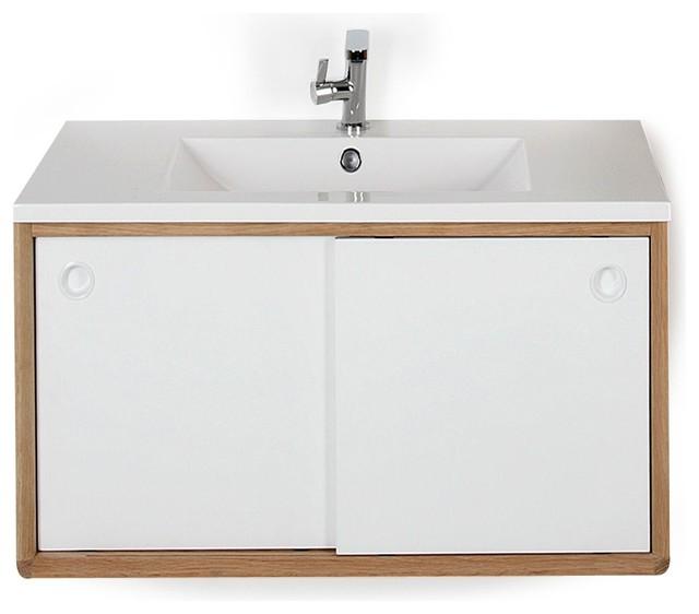 souligne meuble sous vasque de salle de bains 80cm r tro console et meuble sous lavabo par. Black Bedroom Furniture Sets. Home Design Ideas
