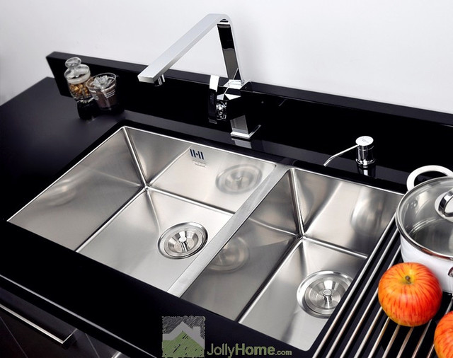 Kitchen Double Sinks Silver kitchen sinks kitchen design ideas devotoaitelefilm modern drop in kitchen sinks images workwithnaturefo
