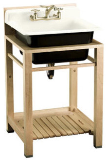 ... Wood Stand Utility Sink - Traditional - Utility Sinks - by Kohler