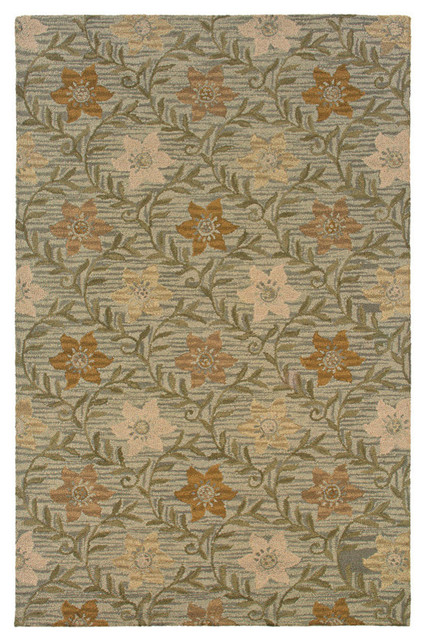 Country Green CT0917 By Rizzy Home Farmhouse Rugs by Carmel Decor