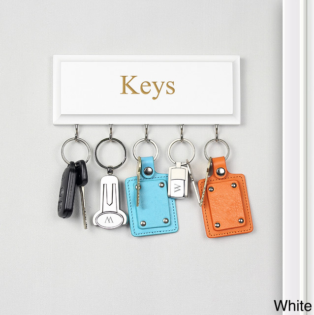 Hanging Key Holder - Contemporary - Wall Hooks - by Overstock.com