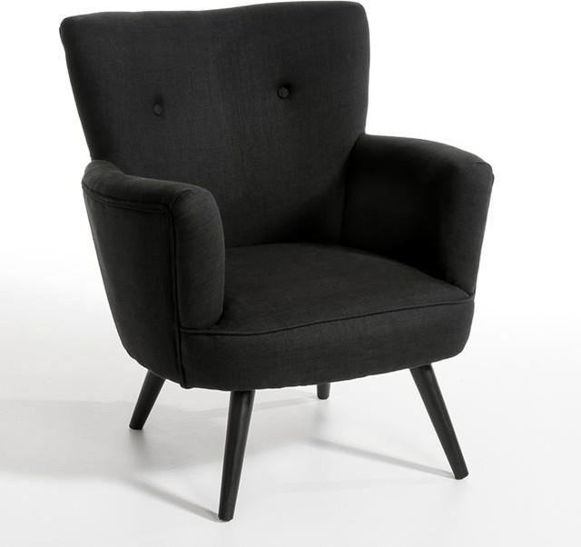 Fauteuil wiliam tissu pur lin contemporain fauteuil par am pm for Fauteuil salon contemporain