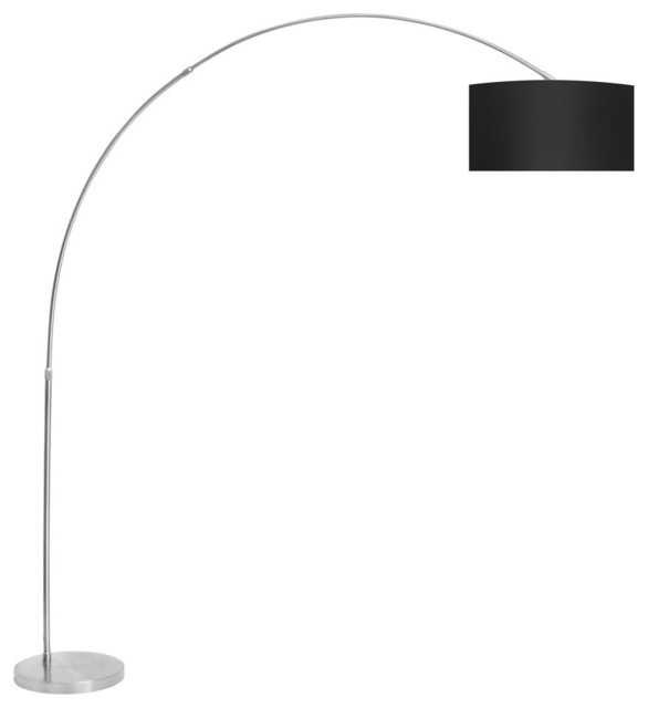 Arc Floor Lamp Black Contemporary Floor Lamps By