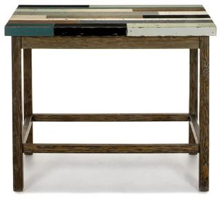 manaka table haute bar rectangulaire bord de mer table de bar et bistrot par alin a. Black Bedroom Furniture Sets. Home Design Ideas