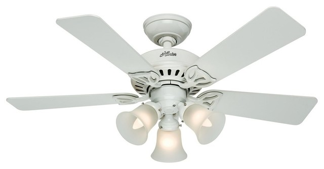 Hunter Small Room or fice Ceiling Fan With Light
